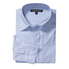 Report Collection Cotton Sport Shirt - Long Sleeve (For Men) in Light Blue - Closeouts