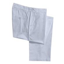 Report Collection Cotton Twill Pants - 5-Pocket (For Men) in Light Blue - Closeouts