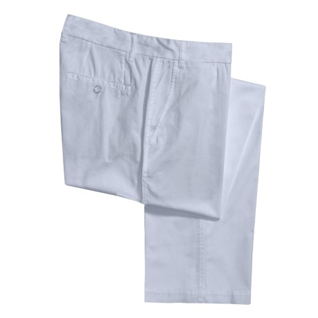 Report Collection Cotton Twill Pants - 5-Pocket (For Men) in Light Blue