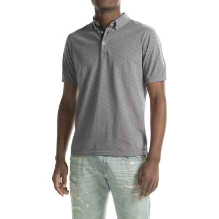 Report Collection Jersey-Knit Polo Shirt - Short Sleeve (For Men) in Light Grey - Closeouts