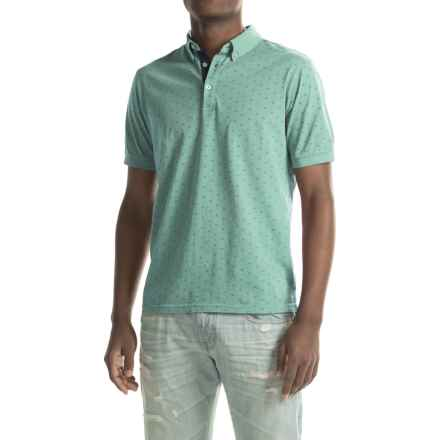 Report Collection Jersey-Knit Polo Shirt - Short Sleeve (For Men) in Seafoam - Closeouts