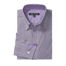 Report Collection Multi-Gingham Shirt - Long Sleeve (For Men) in Lavender - Closeouts