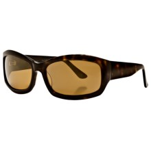 Reptile Ameiva Sunglasses - Polarized (For Women) in Dark Tortoise/Gold - Closeouts