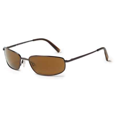 Reptile Genus Sunglasses - Polarized in Espresso/Gold - Closeouts
