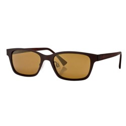 Reptile Knight Sunglasses - Polarized in Chocolate/Gold