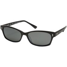 Reptile Lacerta Sunglasses - Polarized (For Women) in Black/Black Ice - Closeouts
