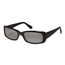 Reptile Picta Sunglasses - Polarized Glass Lenses (For Women) in Black/Grey - Closeouts