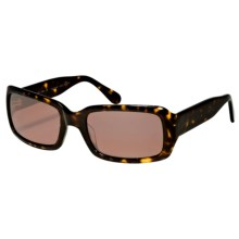 Reptile Scarlet Sunglasses - Polarized (For Women) in Dark Tortoise/Titanium Fire - Closeouts