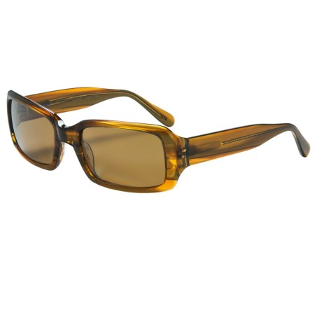 Reptile Scarlet Sunglasses - Polarized (For Women) in French Tortoise/Gold