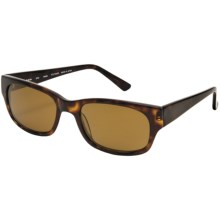 Reptile Slevin Sunglasses - Polarized in Dark Tortoise/Titanium Gold - Closeouts