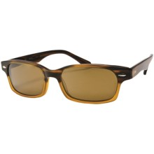 Reptile Slither Sunglasses - Polarized in Tortoise Blond/Titanium Gold - Closeouts