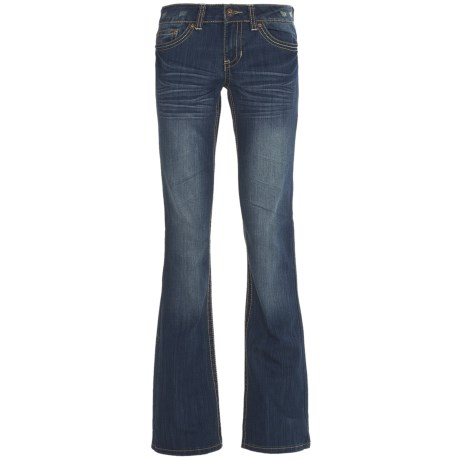 Request Jeans Low-Rise Jeans - Bootcut (For Women) in Temple