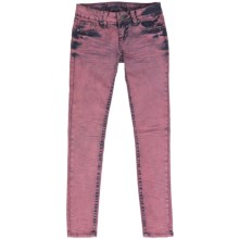 Request Jeans Pigment-Dyed Skinny Jeans - Low Rise (For Women) in Carnation - Closeouts