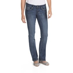 Request Jeans Slim Bootcut Jeans - Low Rise (For Women) in Voodoo