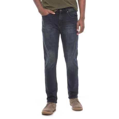 Request Jeans Slim Fit Stretch Jeans (For Men) in Navy