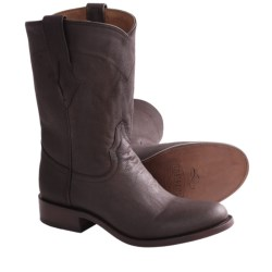 Resistol by Lucchese Ranch Cowboy Boots - Leather (For Women) in Dark Tan