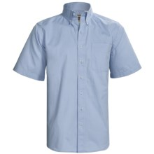Resistol Cotton Twill Shirt - Short Sleeve (For Men) in Resistol Blue - Closeouts