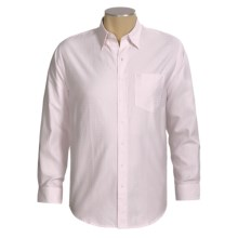 Resistol Dobby Check Shirt - Cotton, Long Sleeve (For Men) in Pink - Closeouts