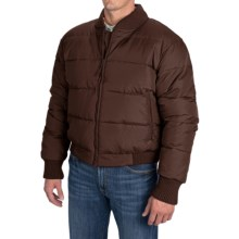 Resistol Down Puffer Jacket (For Men) in Cowboy Coffee - Closeouts