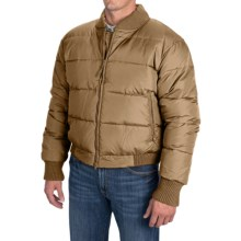 Resistol Down Puffer Jacket (For Men) in Cowboy Wheat - Closeouts