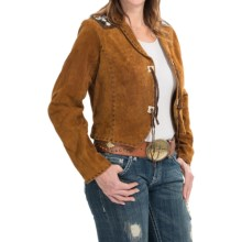 Resistol Prairie Fever Leather Jacket (For Women) in Tan - Closeouts