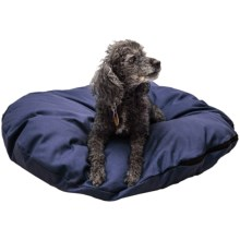"Restless Tails Dog Bed - Knife Edge, 30"" in Navy - Closeouts"