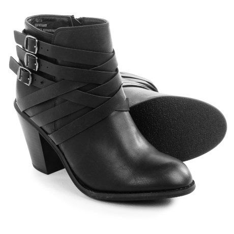 Restricted Nanno Ankle Boots (For Women) in Black