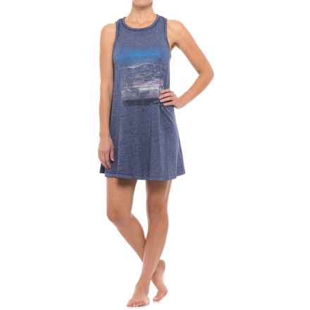Retrospective Points West Nightgown - Sleeveless (For Women) in Navy - Closeouts