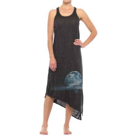 Retrospective Starry Landscape Nightgown - Sleeveless (For Women) in Black - Closeouts