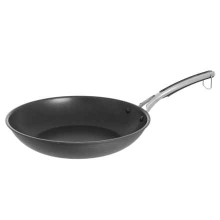"""Revere Ware Hard-Anodized Aluminum Nonstick Frying Pan - 12"""" in Black - Closeouts"""