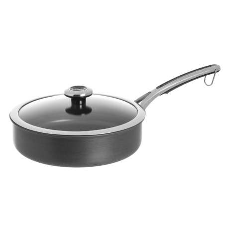 Revere Ware Hard-Anodized Aluminum Nonstick Saute Pan with Lid - 3 qt. in Black