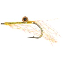 Reverse Charlie Saltwater Fly - Dozen in Yellow - Closeouts