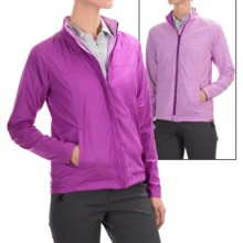Reversible Lightweight Jacket (For Women) in Hibiscus - 2nds