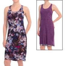 Reversible Racerback Dress - Sleeveless (For Women) in Purple - 2nds