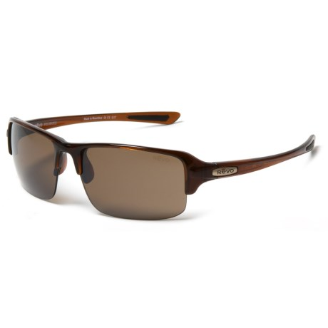 Revo Abyss Sunglasses - Polarized in Brown/Terra