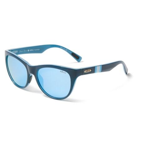 92fedfbae0 Revo Barclay Draper James Sunglasses - Polarized (For Women) in Navy Blue  Water