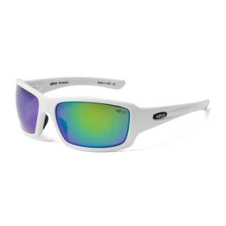 Revo Bearing Sunglasses - Polarized in Matte White/Green Water - Closeouts