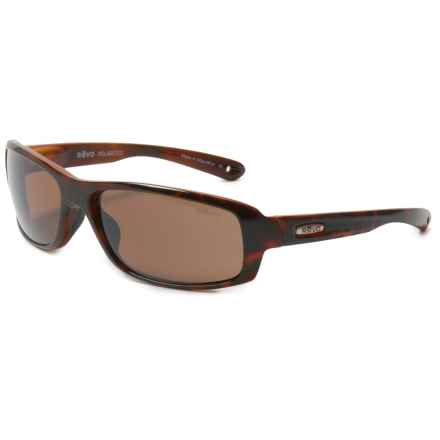 Revo Camber Sunglasses - Polarized, Serilium Polycarbonate Lenses in Tortoise/Terra Brown - Closeouts