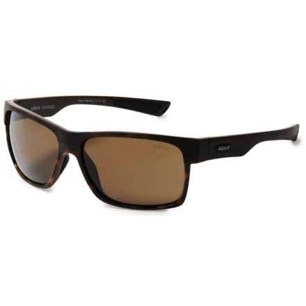 Revo Camden Sunglasses - Polarized, Serilium Polycarbonate Lenses (For Women) in Tort/Terra - Overstock
