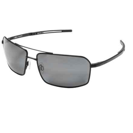 Revo Cayo Sunglasses - Polarized in Black/Graphite - Overstock