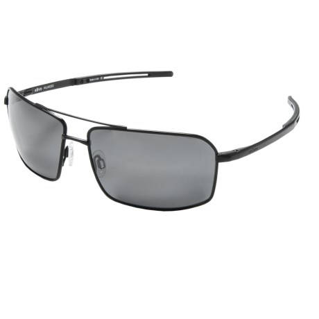 Revo Cayo Sunglasses - Polarized in Black/Graphite