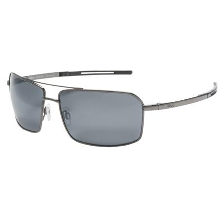 Revo Cayo Sunglasses - Polarized in Gun/Graphite