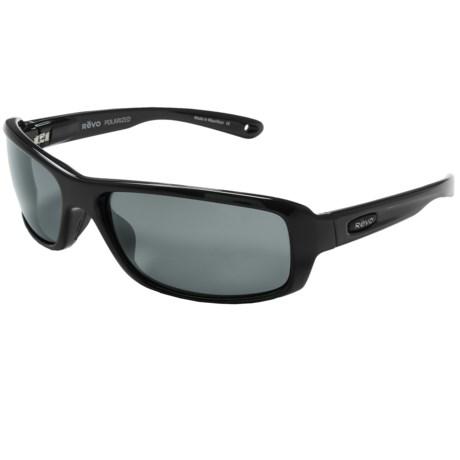 Revo Converge Sunglasses - Polarized, Glass Lenses in Black/Graphite
