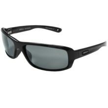 Revo Converge Sunglasses - Polarized in Black/Graphite - Closeouts