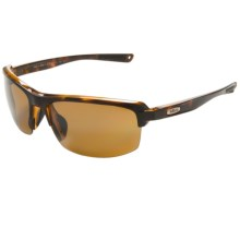 Revo Crux S Sunglasses - Polarized in Classic Tortoise/Bronze - Closeouts