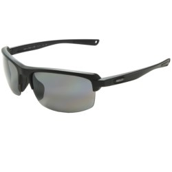Revo Crux S Sunglasses - Polarized in Polished Black/Water