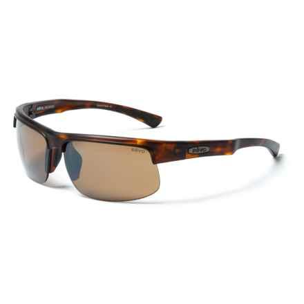 Revo Cusp Sunglasses - Polarized in Matte Tortoise/Terra Brown - Closeouts