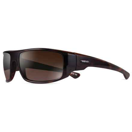 Revo Dash Sunglasses - Polarized in Tortoise/Terra - Closeouts
