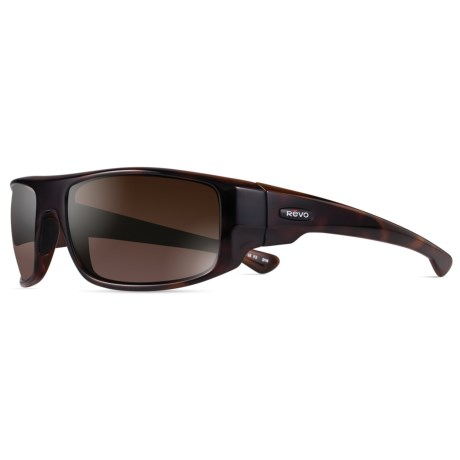 Revo Dash Sunglasses - Polarized in Tortoise/Terra