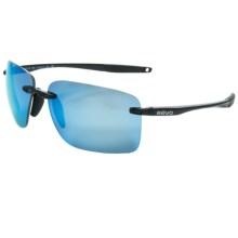 Revo Descend W Sunglasses - Polarized in Polished Black/Water - Closeouts